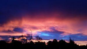 sun over Santa Fe