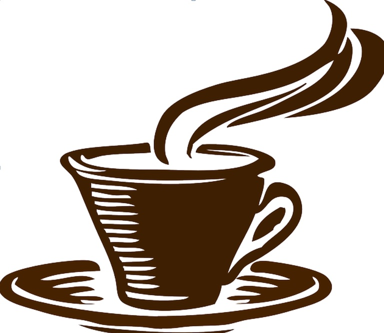 cartoon image of cup of coffee