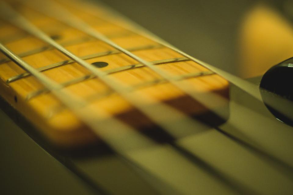 arm of a guitar
