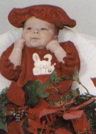My baby at Christmas