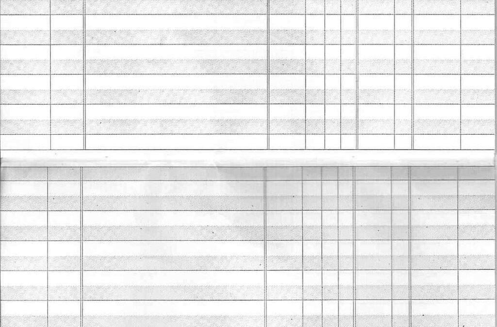 Checkbook Registry